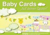 Baby Cards 'Auf deinen Spuren', Erinnerungskarten