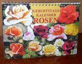 Geburtstagskalender mit Rosenschönheiten