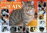 Birthday Calendar with CATS