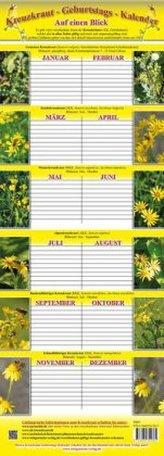 Kreuzkraut-Geburtstags-Kalender