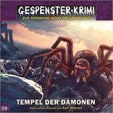 Gespenster-Krimi - Tempel der Dämonen, 1 Audio-CD