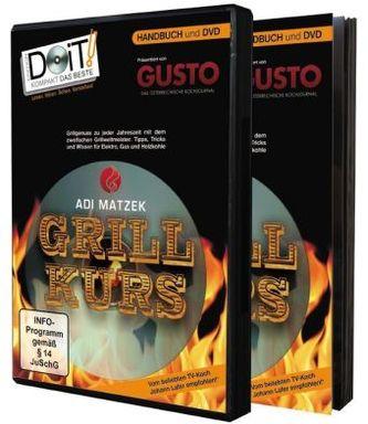 Grillkurs, Handbuch und DVD