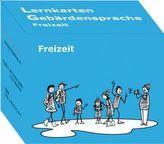 Lernkarten Gebärdensprache: Freizeit