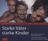Starke Väter - starke Kinder, 4 Audio-CDs