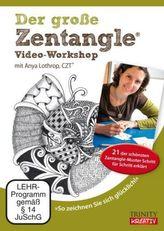 Der große Zentangle® Video-Workshop, 1 DVD