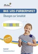 Das LRS-Förderpaket - Übungen zur Serialität, m. CD-ROM