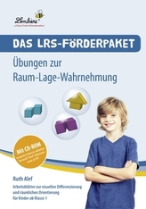 Das LRS-Förderpaket - Übungen zur Raum-Lage-Wahrnehmung, m. CD-ROM
