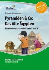 Pyramiden & Co: Das Alte Ägypten, m. CD-ROM