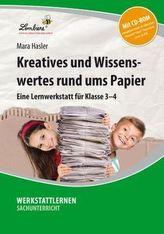 Kreatives und Wissenswertes rund ums Papier, m. CD-ROM
