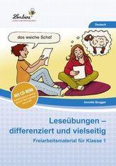 Leseübungen - differenziert und vielseitig, m. CD-ROM