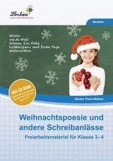 Weihnachtspoesie und andere Schreibanlässe, m. CD-ROM