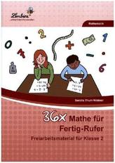 36x Mathe für Fertig-Rufer