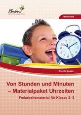 Von Stunden und Minuten - Materialpaket Uhrzeiten