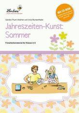 Jahreszeiten-Kunst: Sommer, m. CD-ROM