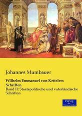Staatspolitische und vaterländische Schriften