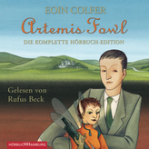 Artemis Fowl - Die komplette Hörbuch-Edition, 9 MP3-CDs