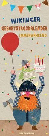 Wikinger-Geburtstagskalender immerwährend