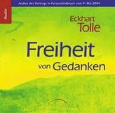Freiheit von Gedanken, 3 Audio-CDs