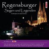 Regensburger Sagen und Legenden, 1 Audio-CD