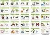 Babyzeichen Poster - Zauberhafte Babyhände entdecken Tiere