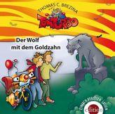 Tom Turbo - Der Wolf mit dem Goldzahn, 1 Audio-CD