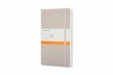 Moleskine Notizbuch, Pocket, A6, liniert, soft cover, beige