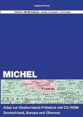 Michel-Atlas zur Deutschland Philatelie, m. CD-ROM