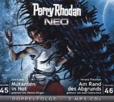Perry Rhodan NEO - Mutanten in Not / Am Rande des Abgrunds, 2 MP3-CDs