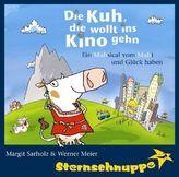 Die Kuh, die wollt ins Kino gehn, 1 Audio-CD