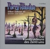 Perry Rhodan, Silber Edition - Die Konstrukteure des Zentrums, 12 Audio-CDs