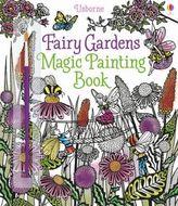 Fairy Gardens Magic Painting Book