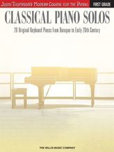 Classical Piano Solos - First Grade