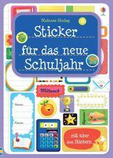 Sticker für das neue Schuljahr