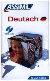 Assimil Deutsch, 4 Audio-CDs
