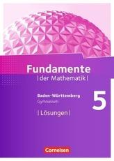 5. Schuljahr, Lösungen zum Schülerbuch