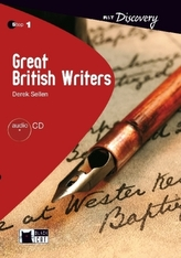 Great British Writers, w. Audio-CD
