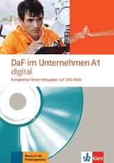 DaF im Unternehmen A1 digital, 1 DVD-ROM