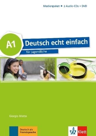 A1 - 2 Audio-CDs und DVD
