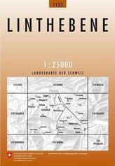 Landeskarte der Schweiz Linthebene