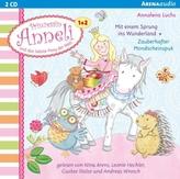 Prinzessin Anneli und das liebste Pony der Welt, 2 Audio-CDs