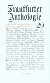 Frankfurter Anthologie. Bd.29