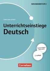 Unterrichtseinstiege Deutsch