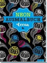 Neon-Ausmalbuch Ocean