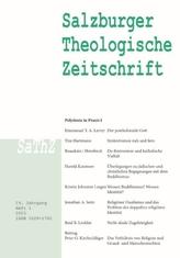 Salzburger Theologische Zeitschrift. H.2015/1