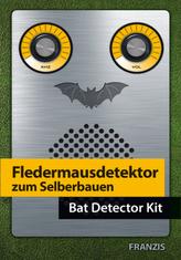 Fledermausdetektor selbst gebaut, Bausatz. Bat Detector Kit