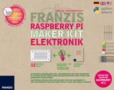Franzis Raspberry Pi Maker Kit Elektronik, 32Bauteile, Quellcode zum Download und Handbuch