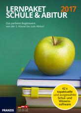 Lernpaket Schule & Abitur 2017, DVD-ROM
