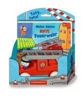 Meine kleine rote Feuerwehr, m. Holzauto (17,5 x 21 cm)