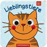 Mein Kulleraugen-Fühlbuch: Lieblingstiere
