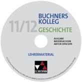 Buchners Kolleg Geschichte, Ausgabe Niedersachsen, Abitur 2014/2015, Lehrermaterial, CD-ROM